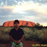 Sunset Alice Springs - Sunset over Uluru