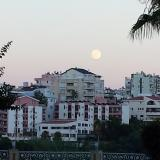 The moon Antalya - Vollmond 2015 in Antalya